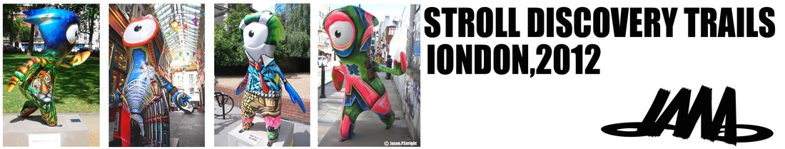 olympic mascot paintings for london 2012